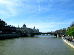 The Seine in spring