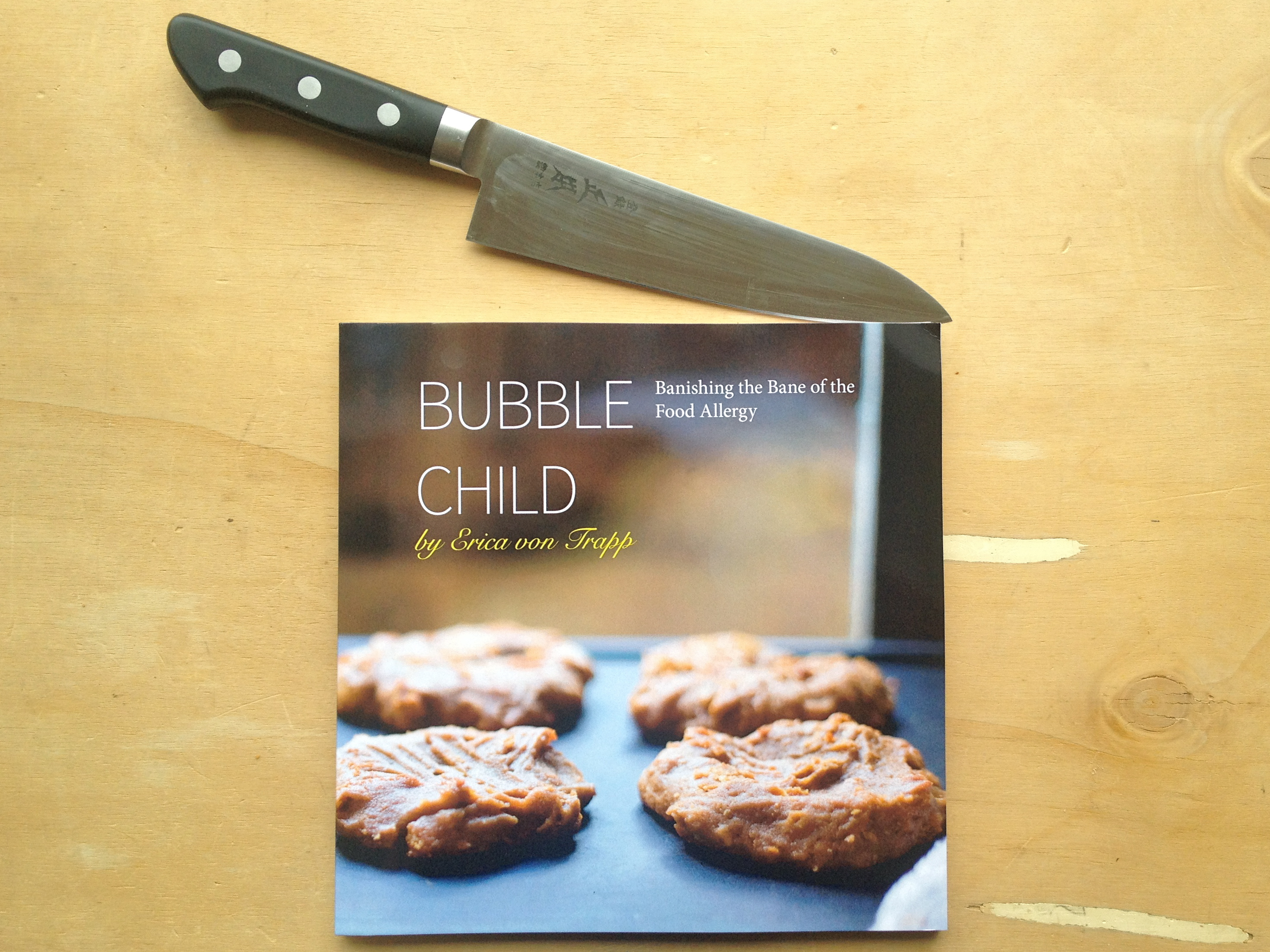 The Bubble Child cookbook coming soon to stores and Amazon.com.