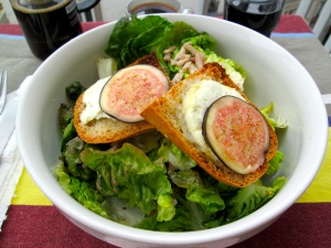 fig rice pizza bowl salad