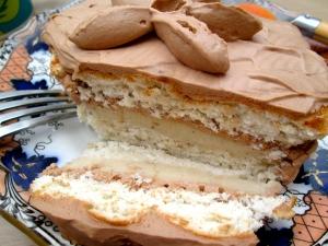mounted cake