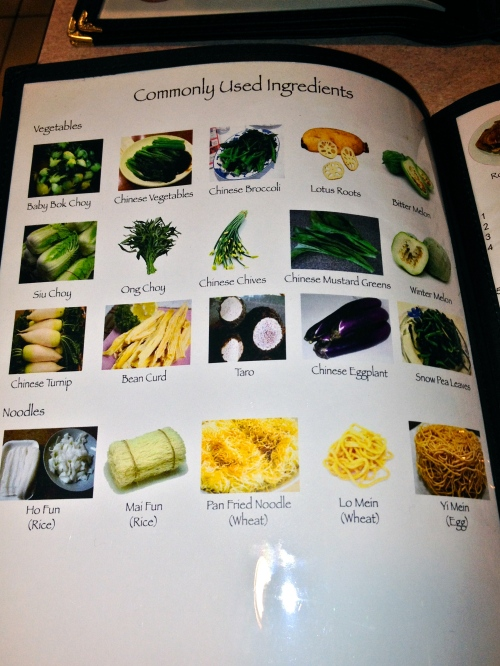 Chinese ingredients