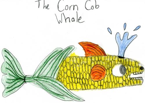 corn cobb whale