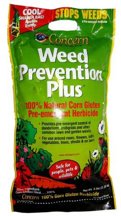 weed prevention corn gluten