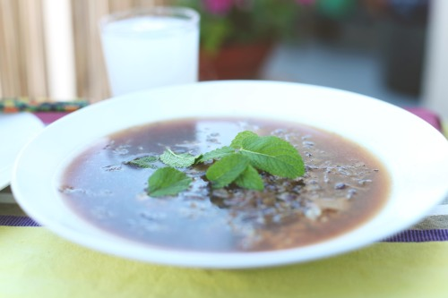 vegan thai mint soup