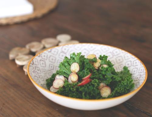 kale radish salad