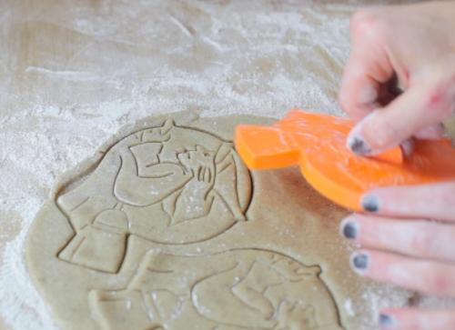 cookie cutter halloween gluten-free dairy-free bubble child